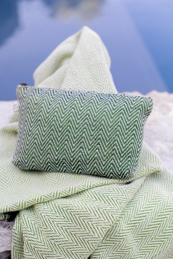 Pochette (Coton) Épine Vert Foncé |...