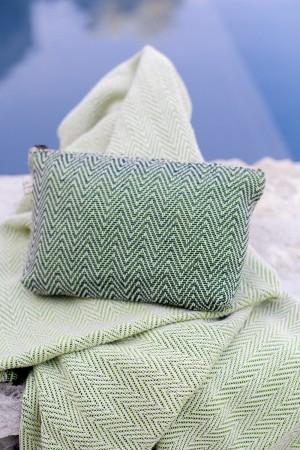 Bolsa de Algodão Espinho Verde Escuro   Alface