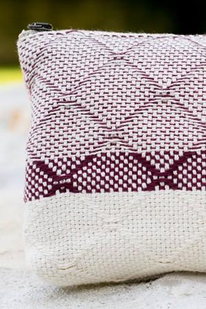 Bolsa de Algodão Azulejo Bordeaux | Rosa