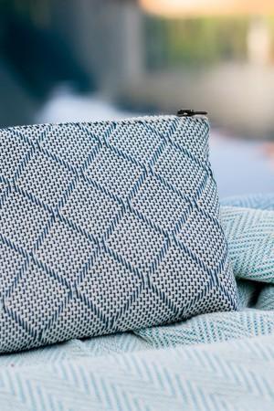Bolsa de Algodão Azul Escuro | Cru