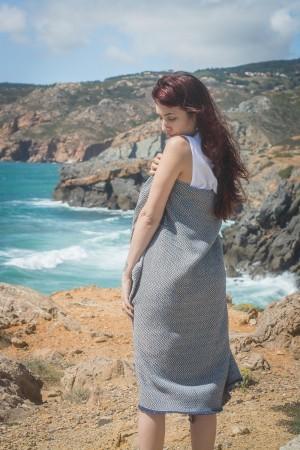 Toalha de Praia | Algodão Espinho