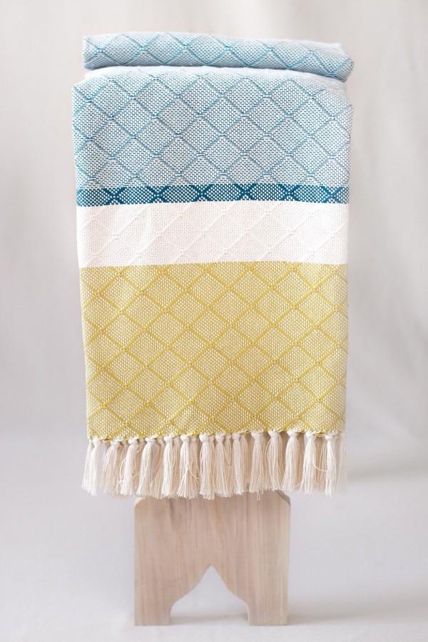 Cotton Blanket | Tile