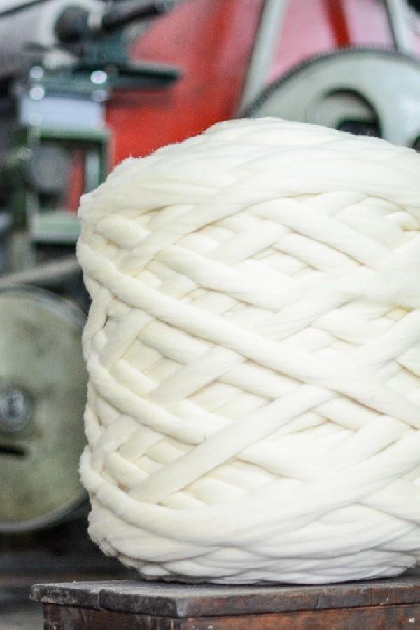 Rama de Lã penteada